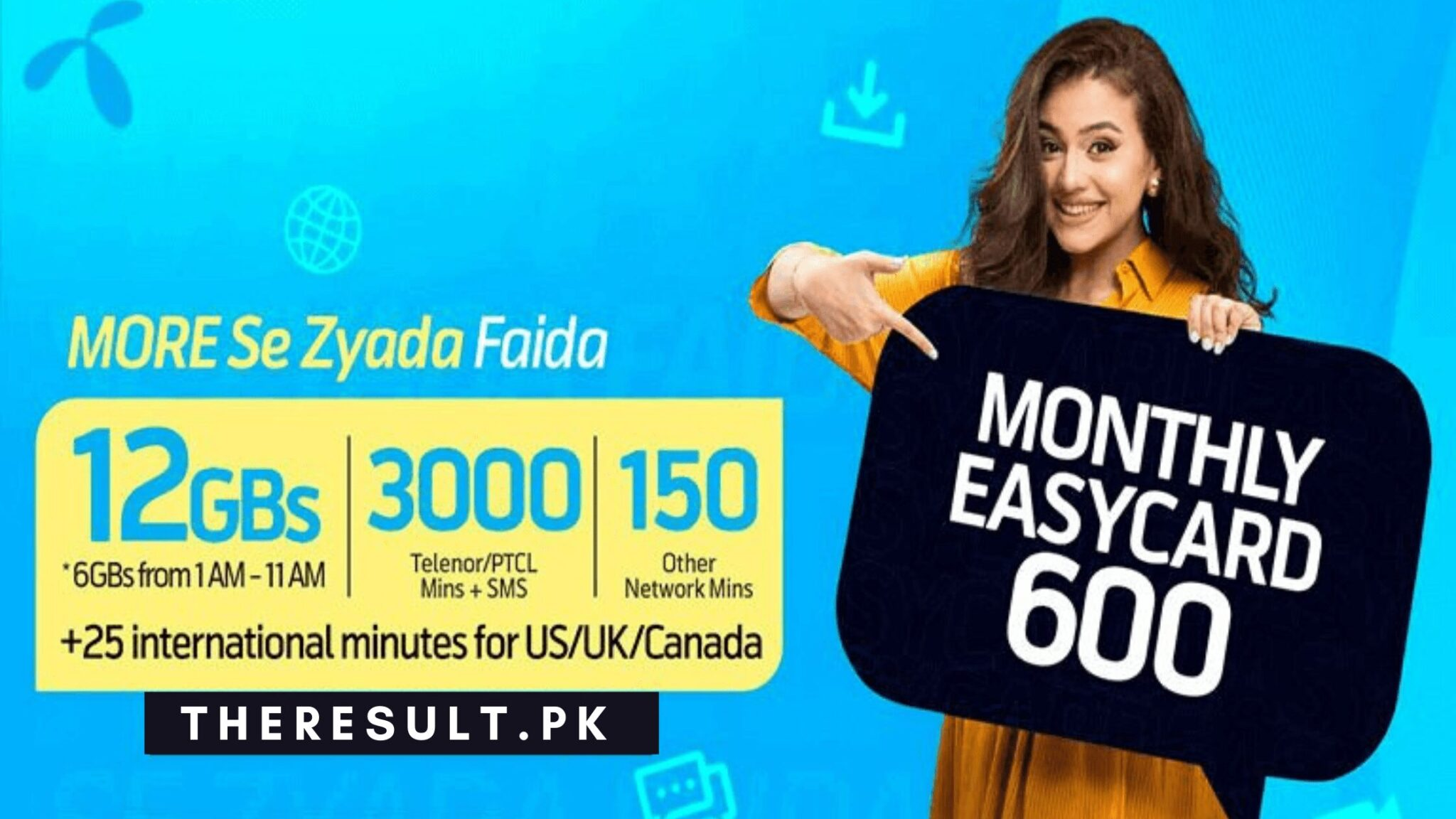telenor easy card 600