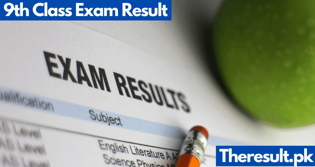 9th Class Result